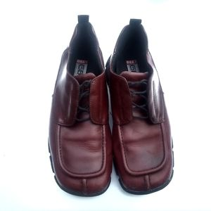 ❤️Gbx Mens Oxfords Maroon Leather Shoes